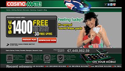 Casino Mate - Real Money casino online