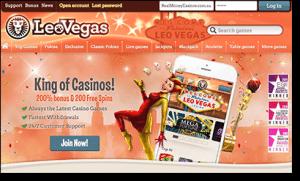 Leo Vegas - Real Money Online Gambling