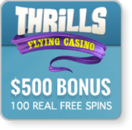 Thrills Casino real money