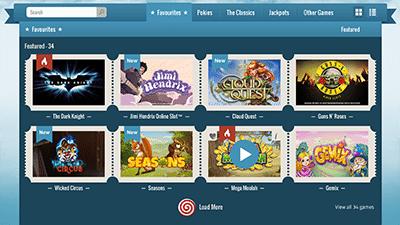 Thrills Casino Desktop