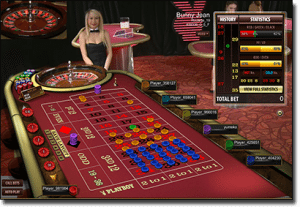 Play Live Dealer Playboy Bunny roulette for real money