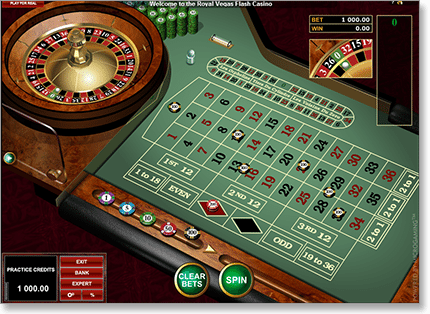 Play Internet Roulette for real money