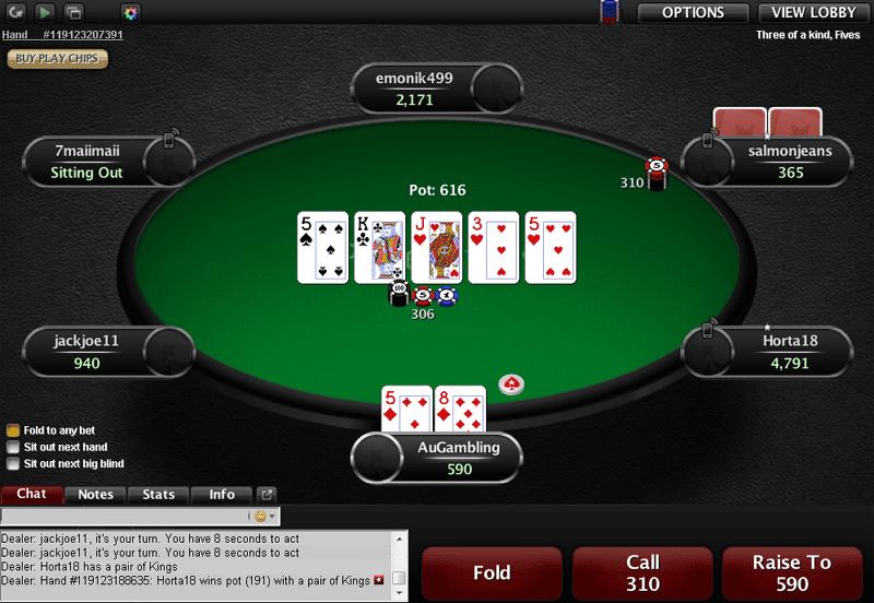 Casino pokerstars vpp gambles com