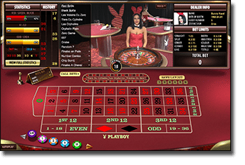 Play Playboy Bunny online live dealer
