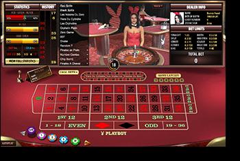 Play Playboy Bunny online live dealer