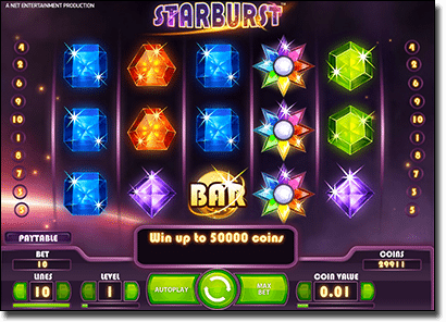 Play Starburst pokies at Leo Vegas Casino