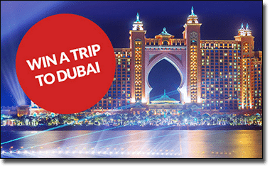 Win a vacation to Dubai at Guts Casino