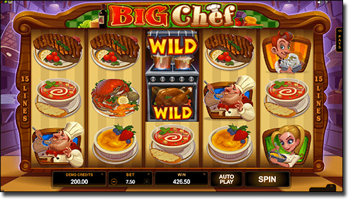 Play Big Chef online pokies