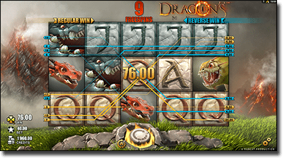 Play Dragon's Myth video slots online