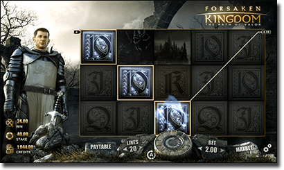 Play Forsaken Kingdom slot on the Internet