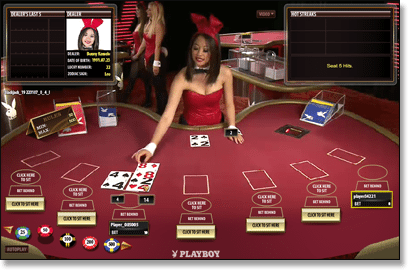 Live dealer Playboy games by Microgaming