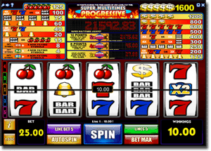 Play iSoftBet progressive jackpot slots online