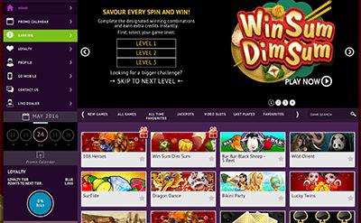 JackpotCity desktop casino