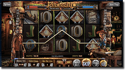 BetSoft Pinocchio online 3D slots