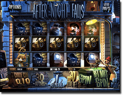 After Nights Falls online slot by BetSoft