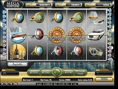 Mega Fortune progressive jackpot pokies