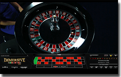 Play Immersive roulette live dealer for real money