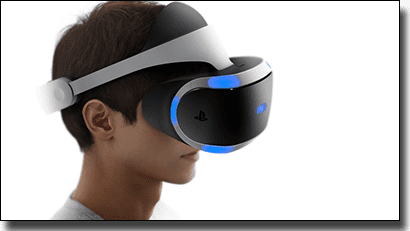 Project Morpheus by Sony PlayStation - Virtual reality headset