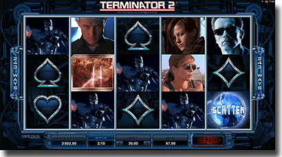 Play Terminator 2 multiplayer pokies for real money