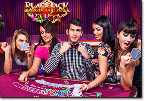 Blackjack Party by Evolution Gaming