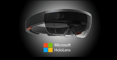 Microsoft HoloLens virtual reality headset
