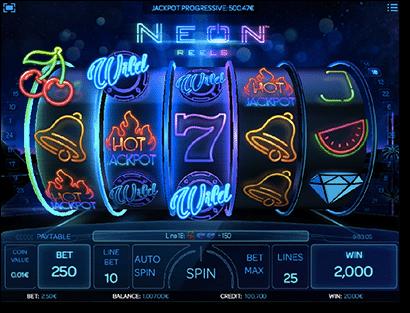 Neon Reels - real money pokies by iSoftBet