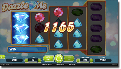 Dazzle Me online real money slots
