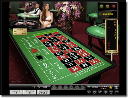 Live Dealer roulette Guts Casino