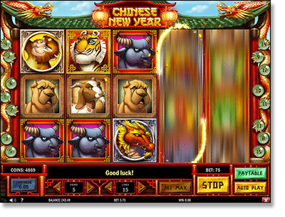 Chinese New Year real money slots
