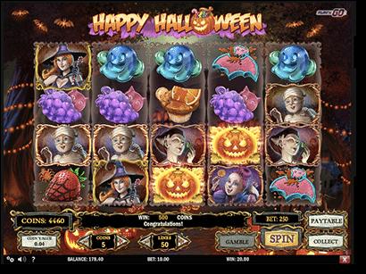 Happy Halloween online pokies at Guts Casino