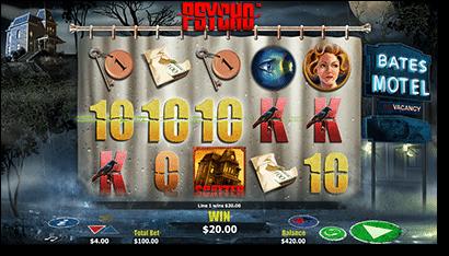 Psycho online slot by NextGen