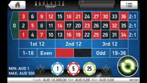 Mobile roulette for real money on iPhone