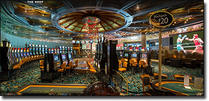 Cairns Casino pokies and table games
