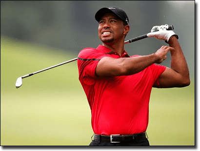 Tiger Woods - celebrity addicted to gambling
