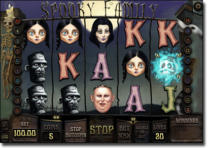 Spooky Family online slots