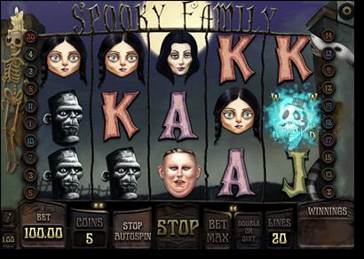 Spooky Family online slots