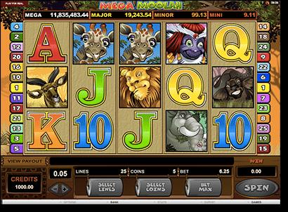 Mega Moolah - progressive jackpot online slots