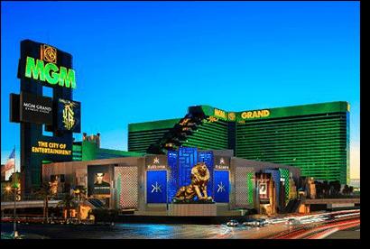 MGM Casino in Las Vegas, America