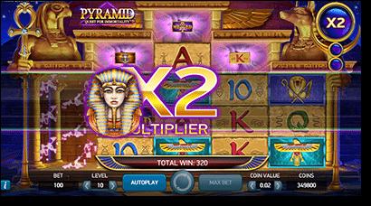 Net Ent's Pyramid pokies at Slots Million
