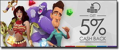 Rival pokies cashback at Slots Million Casino