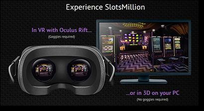 Slots Million virtual reality real money casino
