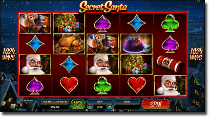 Play Secret Santa online Christmas slot