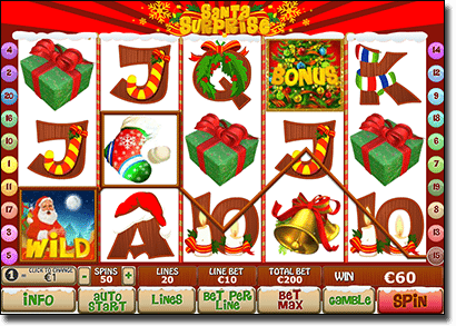 Santa's Surprise - Xmas themed online slots