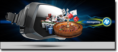 Microgaming virtual reality real money casinos