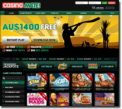 Casino-Mate gets a new site facelift