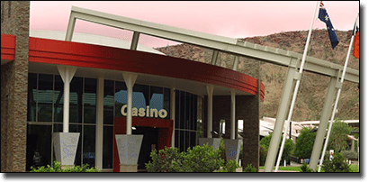 Lasseter's Casino in Alice Springs, NT