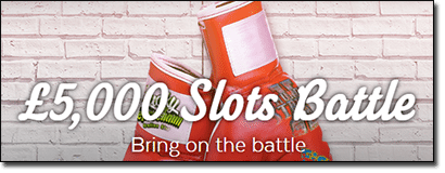 $5000 Slots Battle giveaway at 32Red Casino