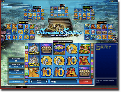Mermaid Millions pokies at Royal Vegas Casino