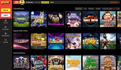 Rizk desktop casino