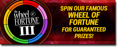 Wheel of Fortune III out now at Royal Vegas online casino